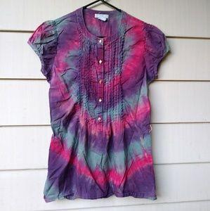 Delias Tie Dye Blouse Medium